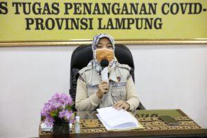 Wagub Imbau Masyarakat Lampung Agar Tetap di Rumah dan Tidak Berkerumun