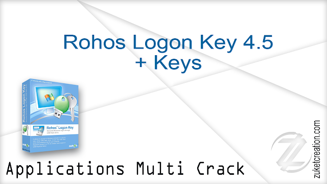 Rohos Logon Key 4.5 + Keys