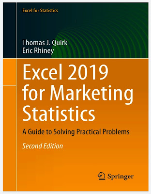 Excel 2019 for Advertising Statistics: A Guide to Solving Practical Problems