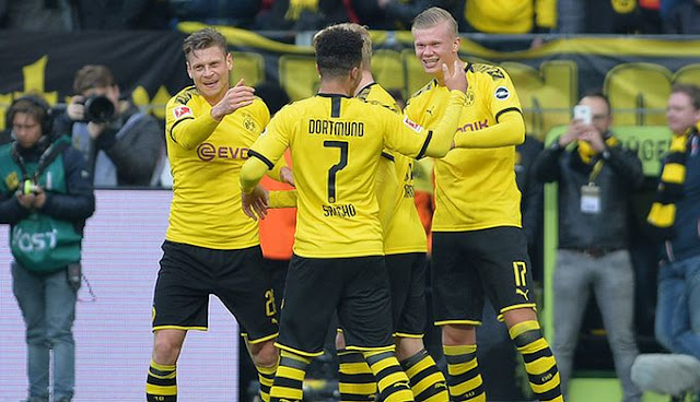 Video Cuplikan Gol: Borussia Dortmund 5-0 Union Berlin (Bundesliga)