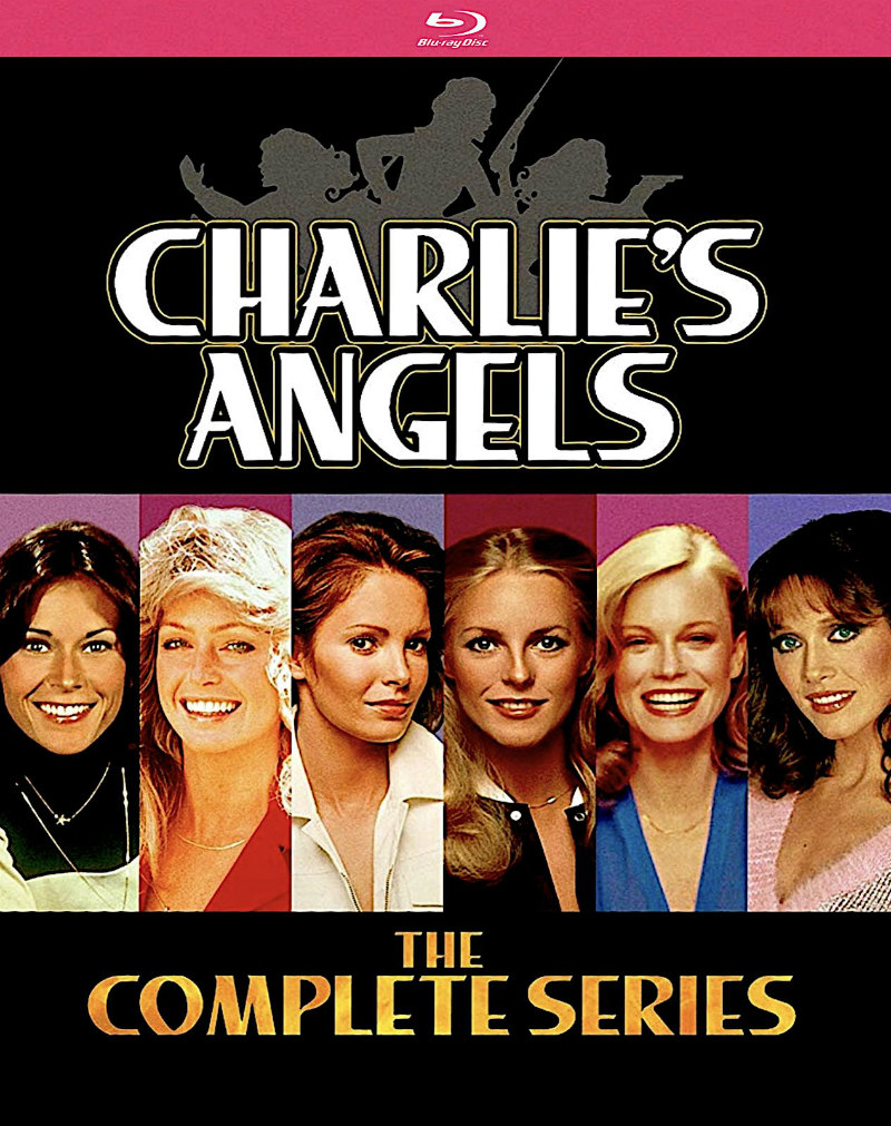 charlie's angels complete series bluray