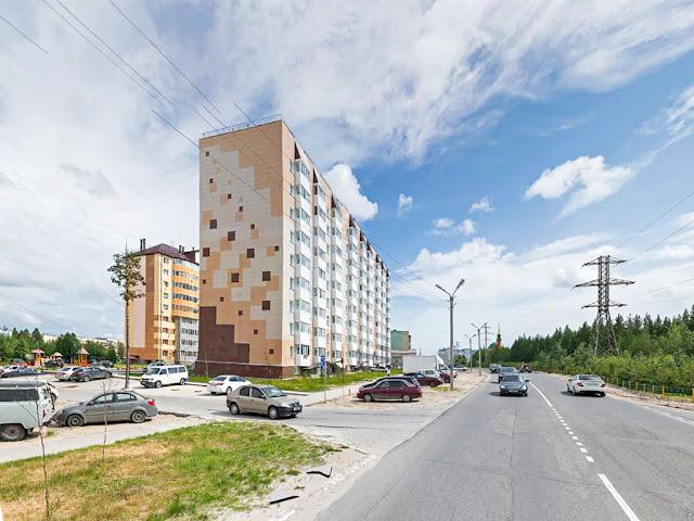 Фото со стороны ул. Высоцкого