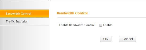 QoS the bandwidth Controller