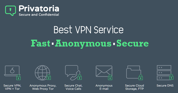 Privatoria — Best VPN Service for Fast, Anonymous and Secure Browsing