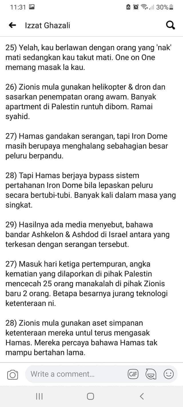 Apa yang terjadi kepada Palestine dan Masjidil Al Aqsa