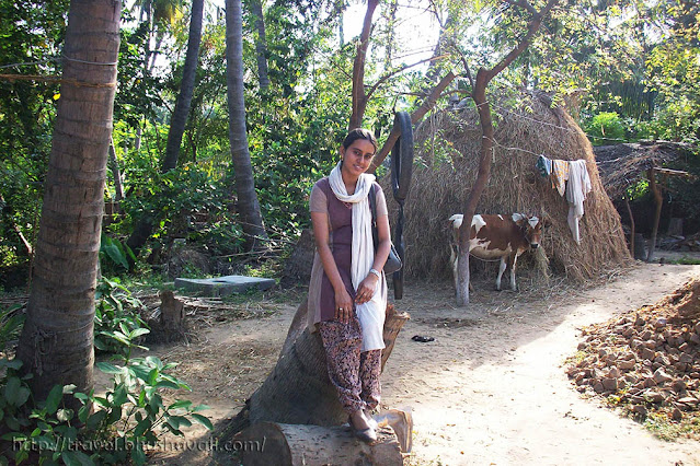 Rural tourism at south indian village of Perugamani