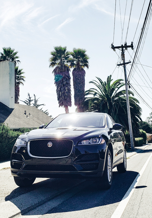 Jaguar F Pace California