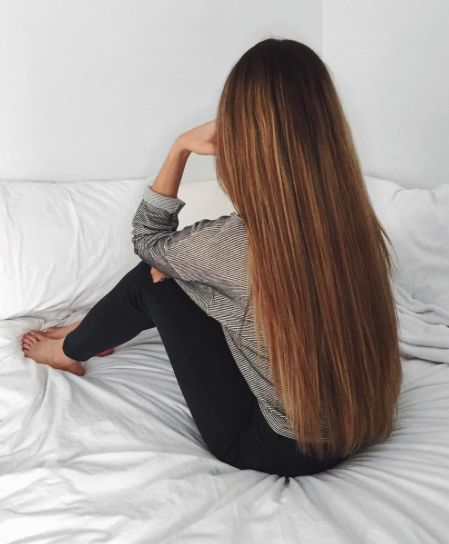 how to grow thicker long hair