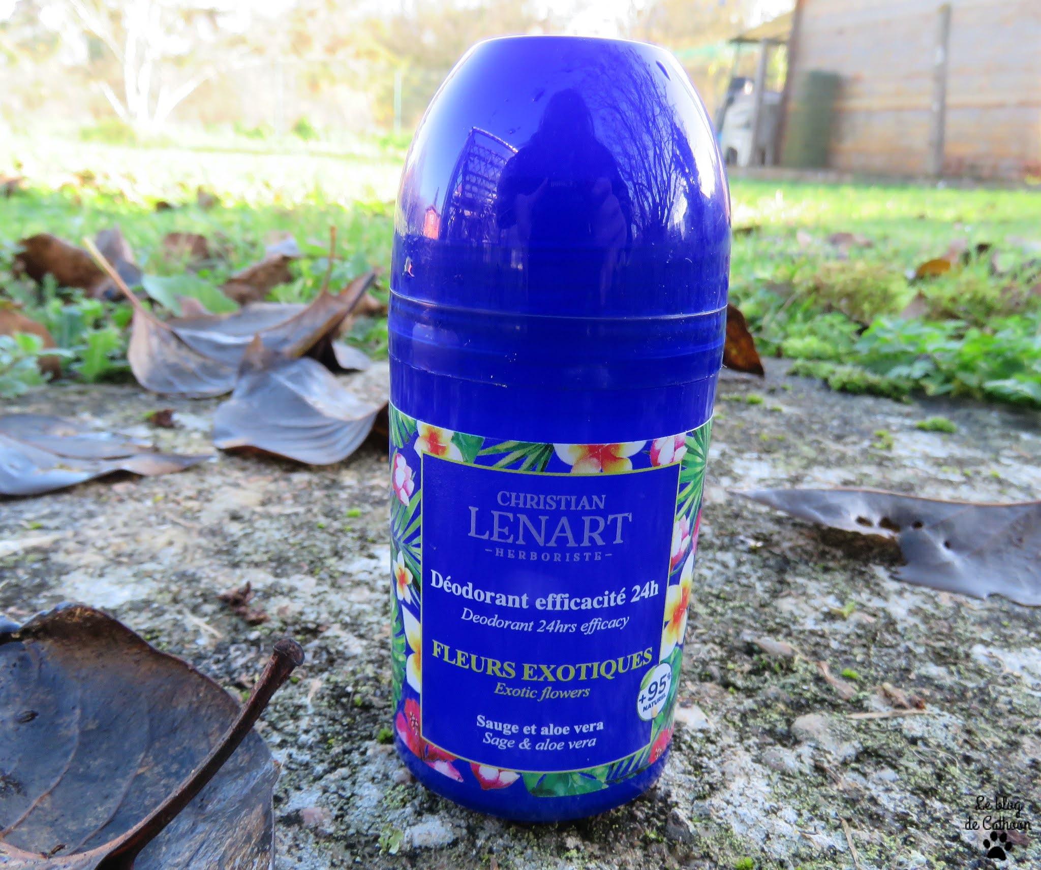 Déodorant Efficacité 24h - Fleurs Exotiques - Christian Lenart