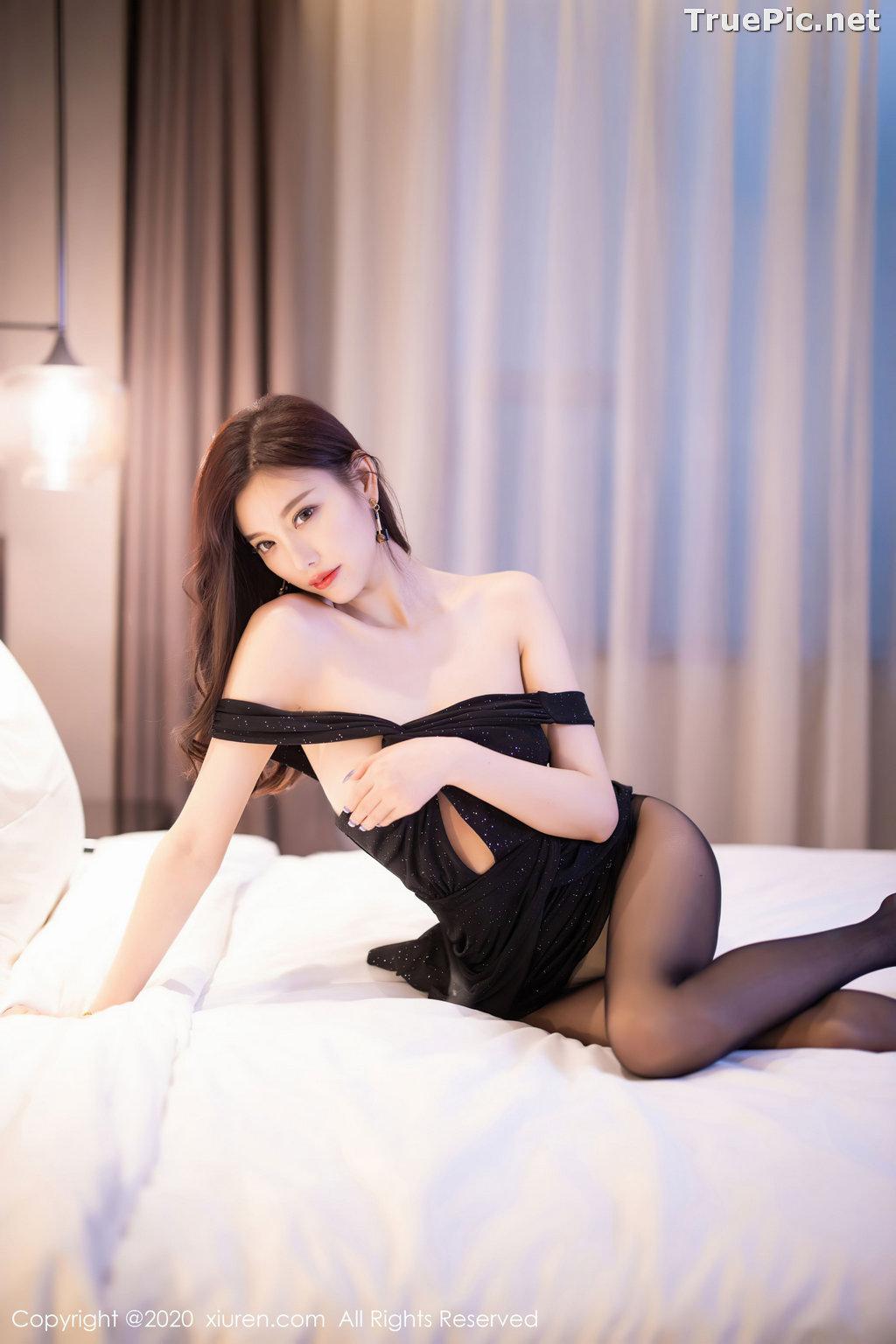 Image XIUREN No.2616 - Chinese Model - Yang Chen Chen (杨晨晨sugar) - Sexy Dark Lady - TruePic.net - Picture-3