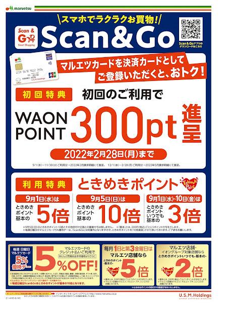 9月1日〜9月2日 チラシ情報 マルエツ/越谷レイクタウン店