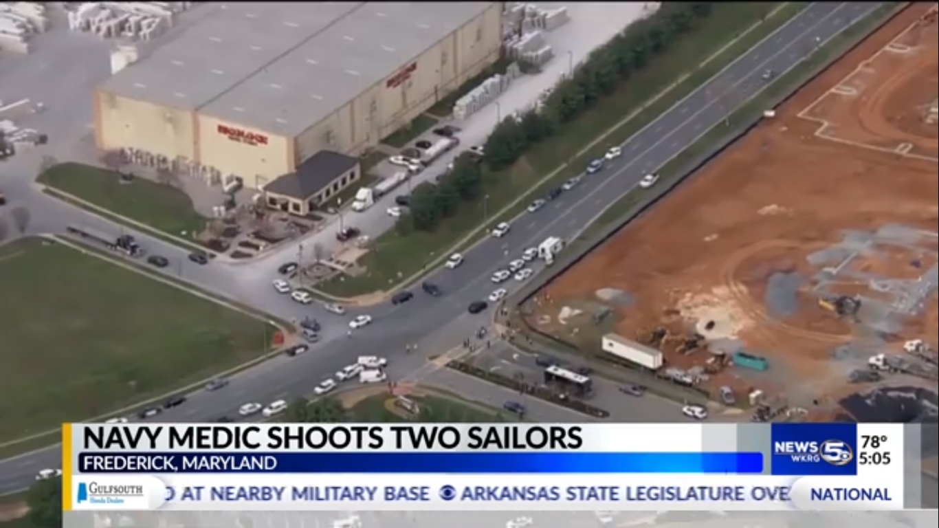 Navy medic shoots 2, is shot and killed at Fort Detrick in Maryland: Authorities