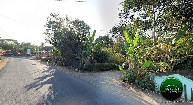 Tanah tepi jalan Kebon Agung, Minggir