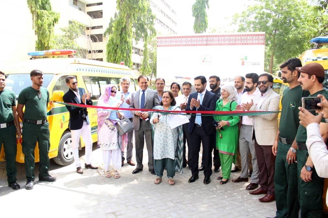 'Sindh Rescue and Medical Services' launched at the Sindh Secretariat