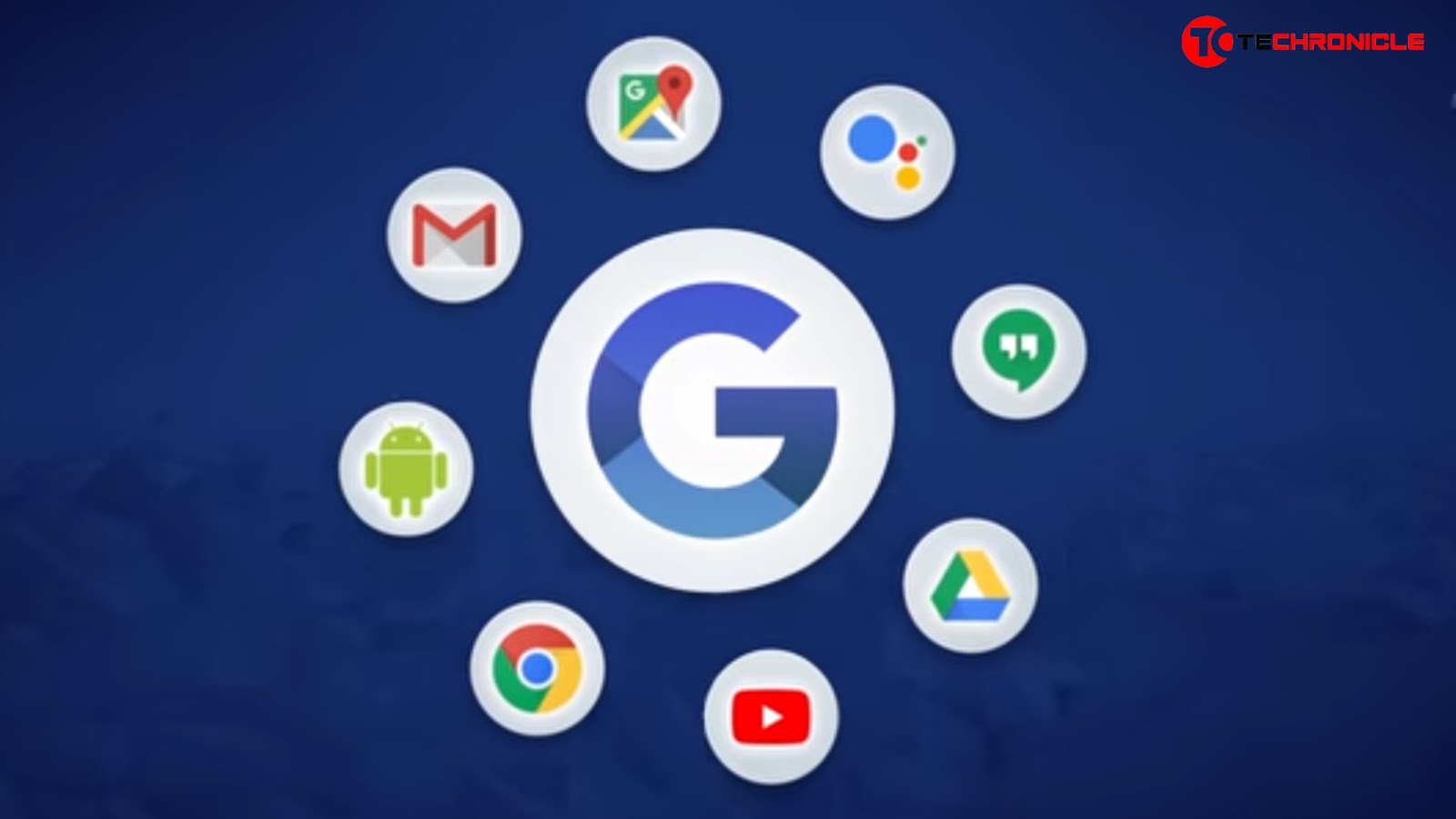 All Google Services logos Techronicle