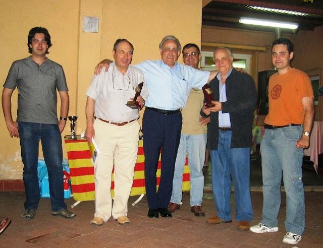 Premios final de temporada 2007
