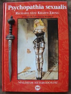 Portada del libro Psychopathia Sexualis, de Richard von Kraft-Ebing