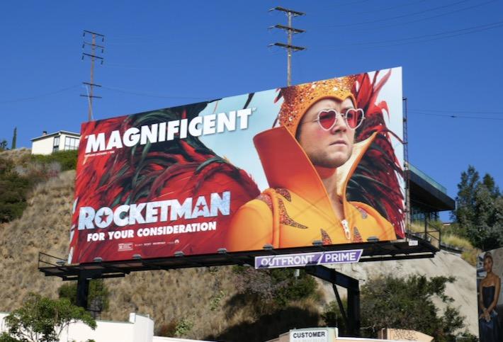Rocketman Magnificent FYC billboard