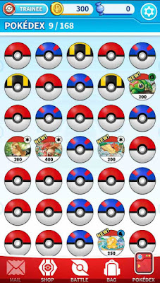 Pokémon Medallion Battle Pokédex