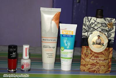 Opróżniamy kosmetyczki - pielęgnacja dłoni i stóp