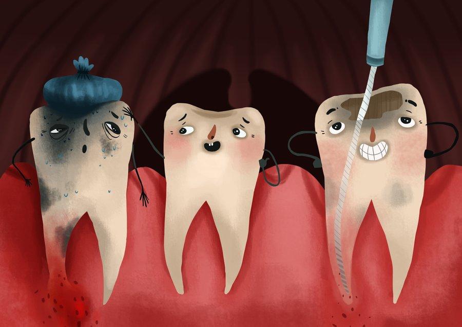 जाड़ और दांत के दर्द