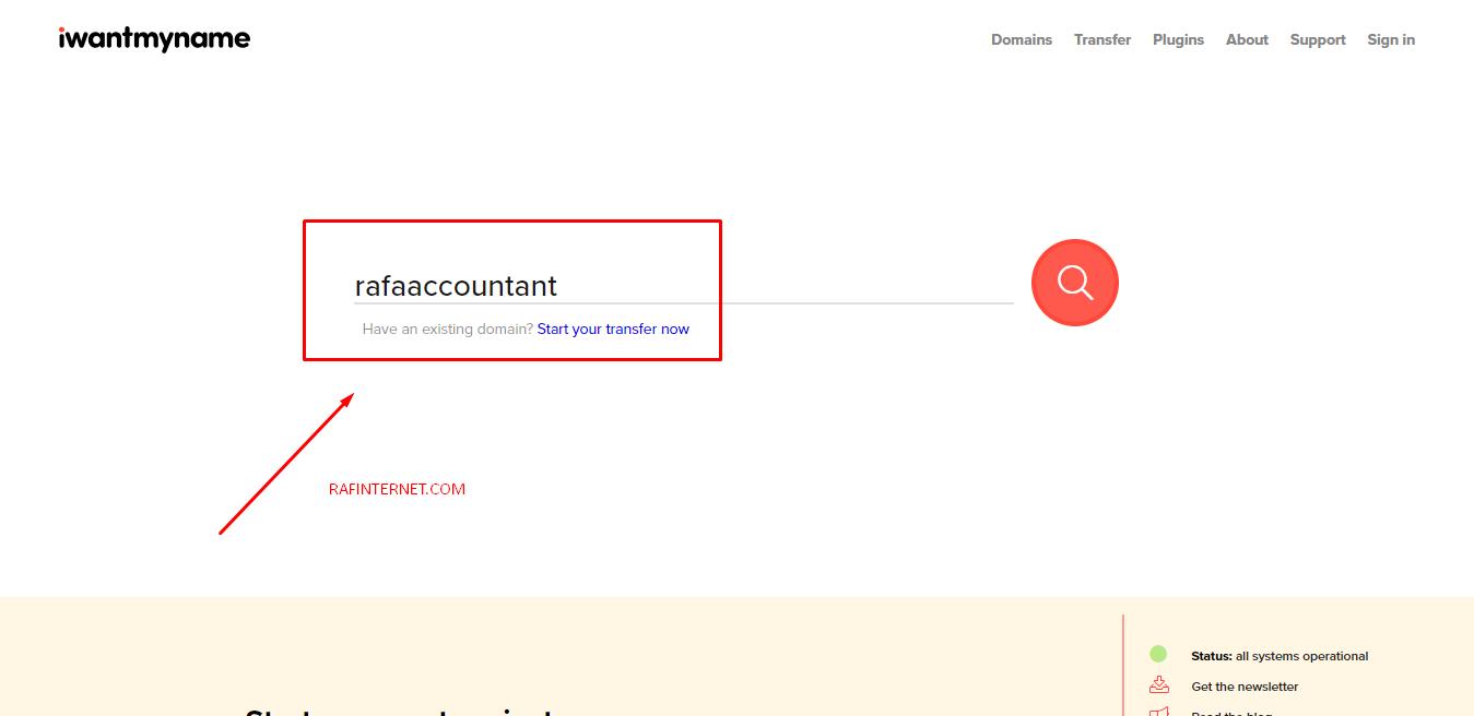 Cara mencari nama domain dengan mudah dan praktis