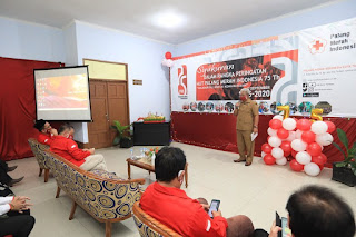 Wakil Walikota Menghadiri Peringatan Hari Ulang Tahun Palang Merah Indonesia 75