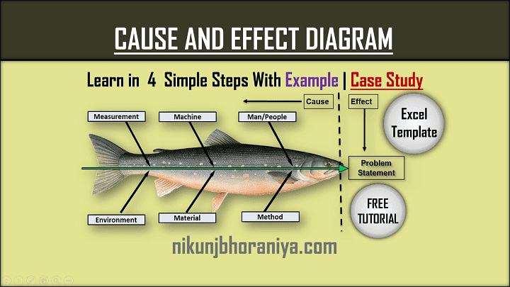 Cause and Effect Diagram  Excel Template  Case Study