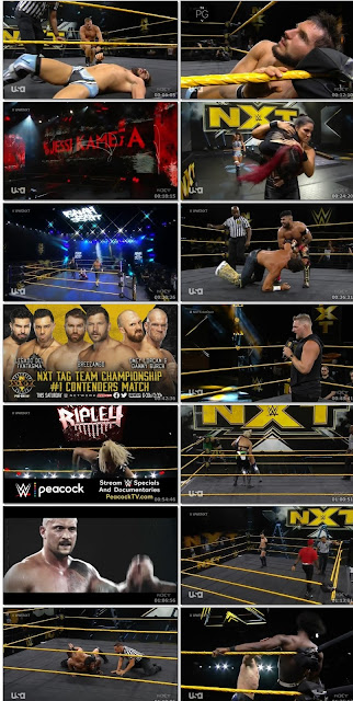 WWE NXT HDTV 480p 19th Aug 2020 300MB || 7starHD