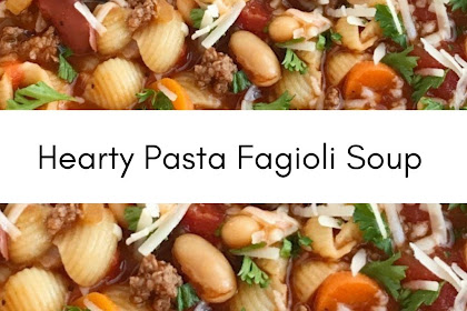 Hearty Pasta Fagioli Soup