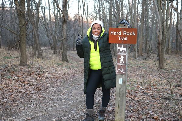 Hard Rock Trail at Black Hill Regional Park