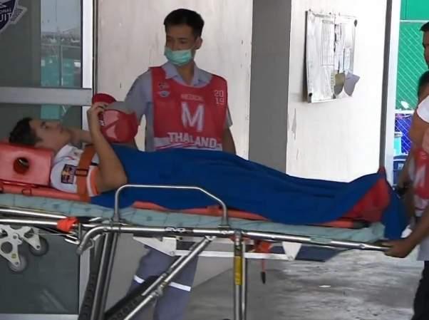 Marc Marquez Di larikan ke Rumah Sakit, Kecelakaan Latihan bebas motoGP Thailand 2019