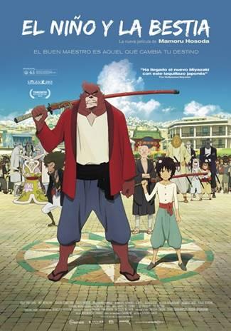 Película anime sobre samurais animales