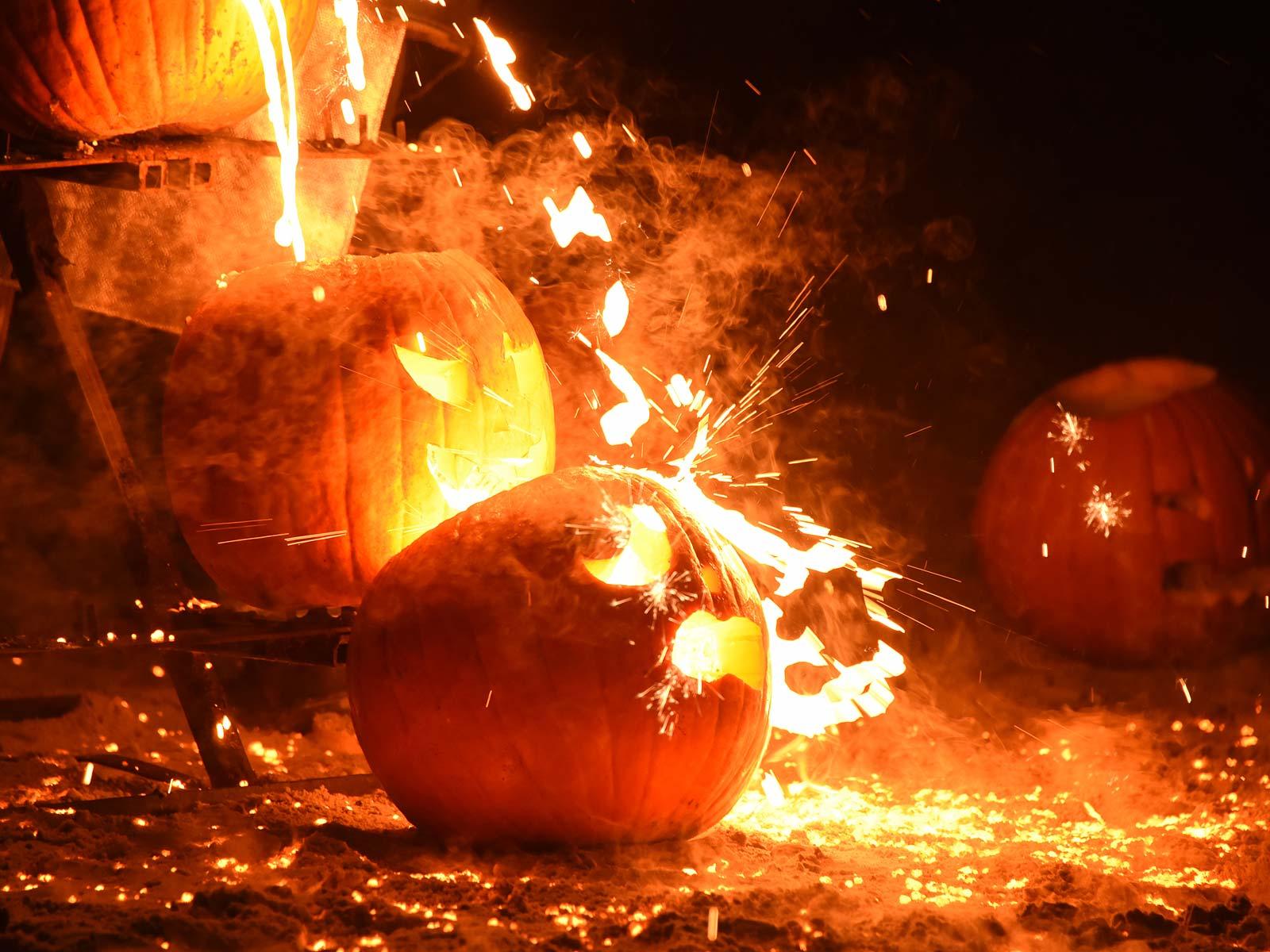 UW Platteville Pumpkin Pour