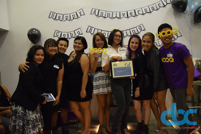 Cebu Blogging Community 2015 1st Anniversary Party