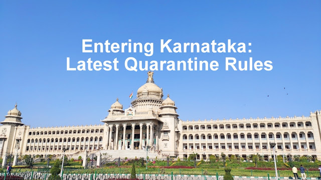 entering Karnataka quarantine rules