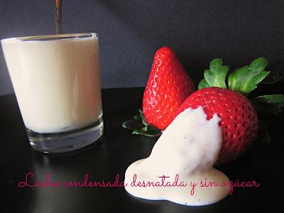Leche Condensada Desnatada Y Sin Azúcar