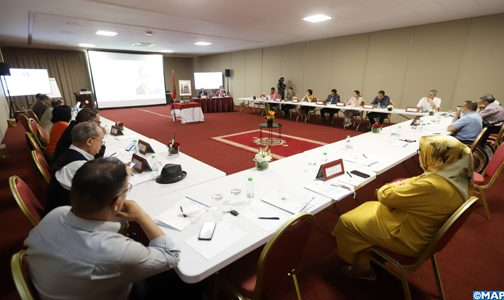 انعقاد الاجتماع الدوري العادي الثاني للجنة الجهوية لحقوق الإنسان لمراكش آسفي