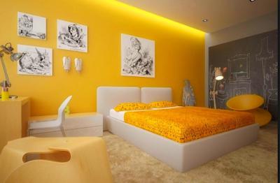 Inspirasi Rumah Nuansa Kuning Ceria 5