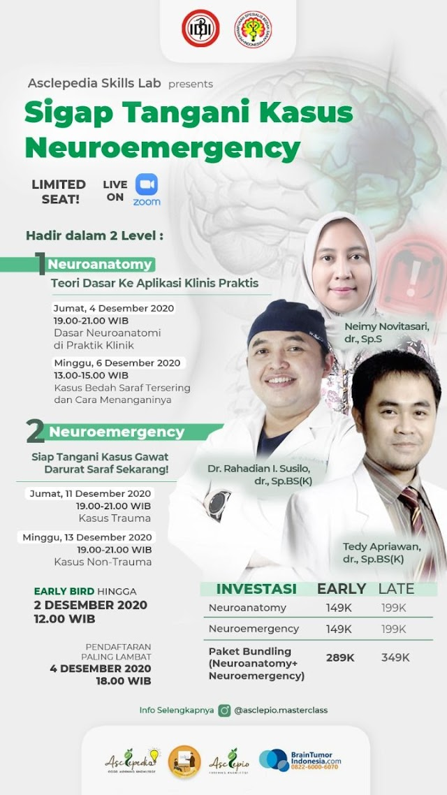 *Asclepedia Skillslab: Siap Tangani Kasus Neuroemergency*