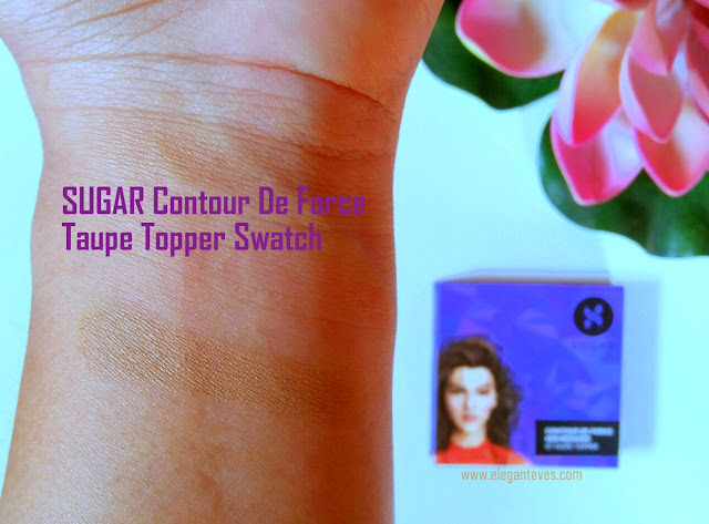 SUGAR Contour De Force Mini Bronzer 01 Taupe Topper Review