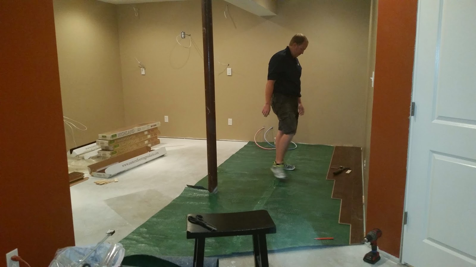 Savoy Ryan Home Finished Basement Ourselves Lots Of Pics