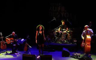 El grupo iraní Manushan Quartet en el Palacio de Festivales de Cantabria - España / stereojazz