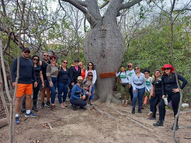Turma de Santa Cruz do Capibaribe visita pontos turísticos no município do Congo, na Paraíba