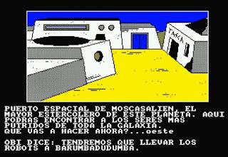 La guerra de las vajillas - Amstrad CPC