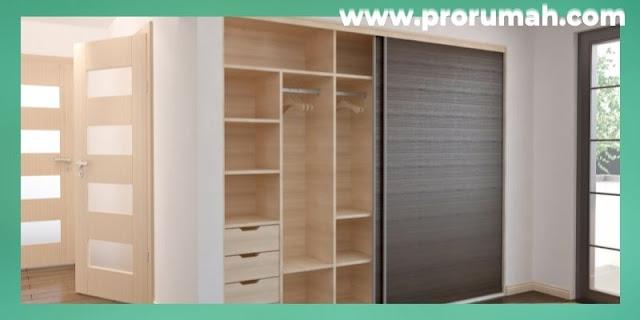 Furniture & Property Untuk Hunian Modern - lemari pakaian dua pintu