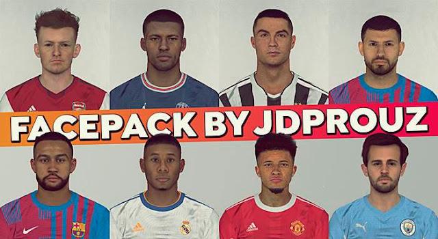Mega Facepack Season 2022 (620+ Faces) For PES 2017