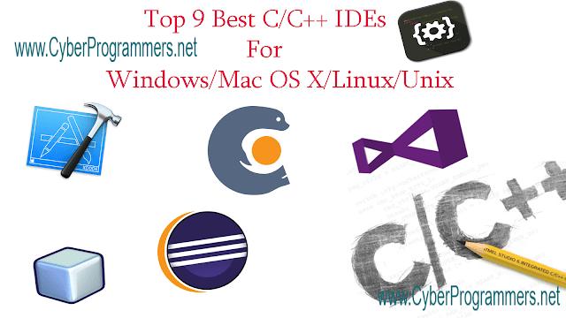 Best C++ IDE's