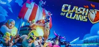 Figure: What is the screenname of Liam Neeson's nemesis in the 2015 Clash of Clans Superbowl Advert?