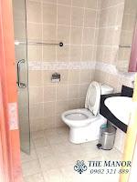 Cho thuê căn hộ studio The Manor 2 quận Bình Thạnh | phòng tắm và wc